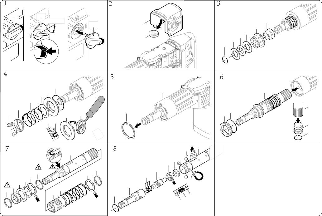 Как отремонтировать перфоратор бош своими руками